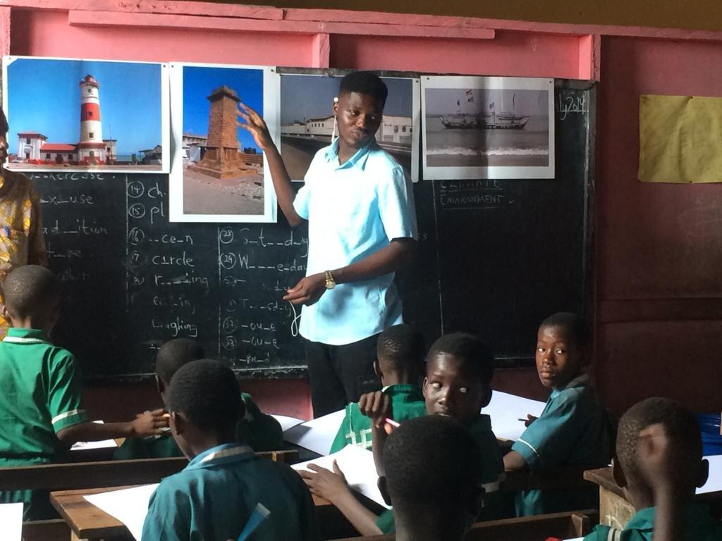 JustGhana Teaching Volunteering